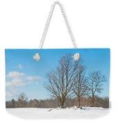 Winter Trees Weekender Tote Bag