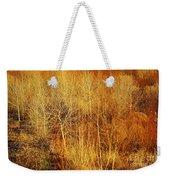 Winter Trees Color 4 Weekender Tote Bag