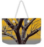 Winter Trees In Yellow Gray Mist 2 Weekender Tote Bag