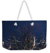 Winter Treetop Weekender Tote Bag