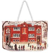 Winter Vacation Begins For Saint Pierre's School Weekender Tote Bag