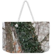 Winter Vine Weekender Tote Bag