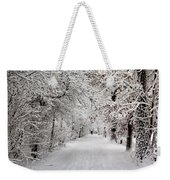 Winter Walk In Fairytale  Weekender Tote Bag
