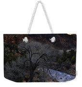 Winter Watchman Weekender Tote Bag