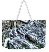 Winter Waterfall 2 Weekender Tote Bag