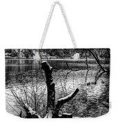 Winter Waterscape Weekender Tote Bag