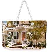 Winter - Westfield Nj - It's Too Early For Winter Weekender Tote Bag