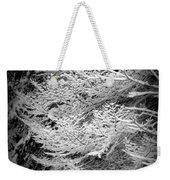 Snowy Boughs Weekender Tote Bag
