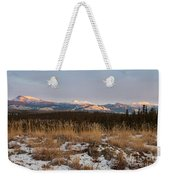 Winter Wilderness Landscape Yukon Territory Canada Weekender Tote Bag
