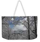 Winter Window Wonder Weekender Tote Bag
