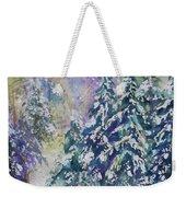Winter Winds Weekender Tote Bag