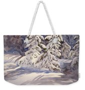 Winter Wonder Weekender Tote Bag