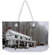 Winter Wonderland At The Valley Green Inn Weekender Tote Bag
