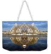 Winter Wonderland Love Weekender Tote Bag