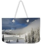 Winter Wonderland Weekender Tote Bag by Mike  Dawson