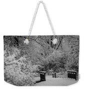 Winter Wonderland Weekender Tote Bag by Sebastian Musial