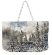 Winter Wonderland - Yellowstone National Park Weekender Tote Bag
