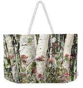 Winter Wood Jpg Weekender Tote Bag