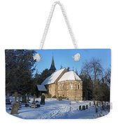 Winter Worship Weekender Tote Bag