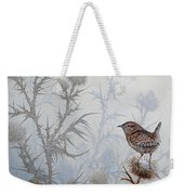 Winter Wren Weekender Tote Bag