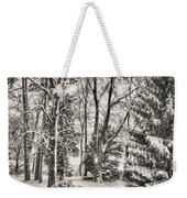 Winter Zauber 03 Weekender Tote Bag