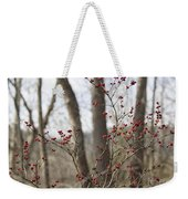 Winterberries Weekender Tote Bag