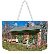 Winterberry Farm Stand Weekender Tote Bag