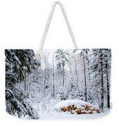 Winterland Weekender Tote Bag
