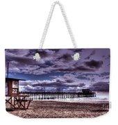 Winters Beach Solitude Weekender Tote Bag