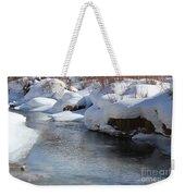 Winter's Blanket Weekender Tote Bag