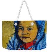 Winter's Child Weekender Tote Bag