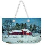 Winter's Colors Weekender Tote Bag