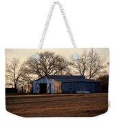 Winter's Cow Barn Weekender Tote Bag