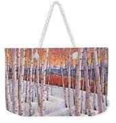Winter's Dream Weekender Tote Bag