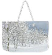 Winter's Glory - Grand Tetons Weekender Tote Bag