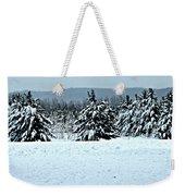 Winter's Love  Weekender Tote Bag