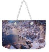 Winters Magic Weekender Tote Bag