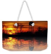 Winter's Reflection Weekender Tote Bag