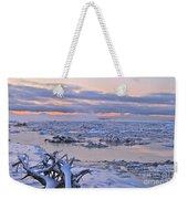 Winters River Weekender Tote Bag