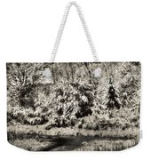 Winter's Sepia Grip Weekender Tote Bag