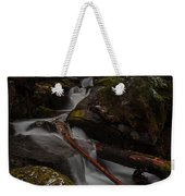 Winters Stream Flow Weekender Tote Bag