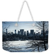 Winter's Touch - Manhattan Weekender Tote Bag