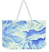 Winter's White Blanket Weekender Tote Bag