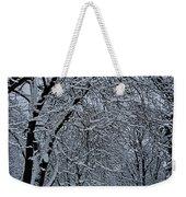 Winter's Work Weekender Tote Bag