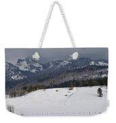 Winterscape Weekender Tote Bag