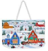 Wintertime In Sugarcreek Weekender Tote Bag