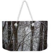 Wintery Day Weekender Tote Bag