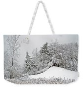 Wintery Fun Weekender Tote Bag