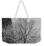 Wintery Tree Weekender Tote Bag
