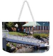 Winthrop Harbor Shore Weekender Tote Bag